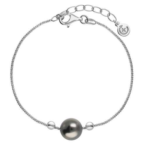 EraOra Silber-Armkettchen Silber 925 Synthetische Perle