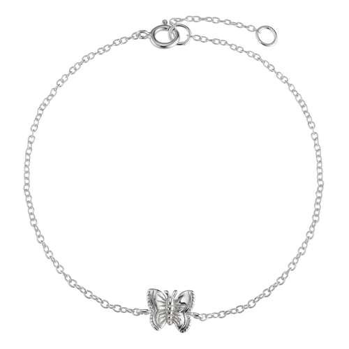 Silber-Armkettchen Silber 925 Schmetterling Sommervogel