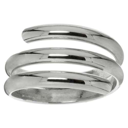 Bague de doigt Argent 925 Spirale