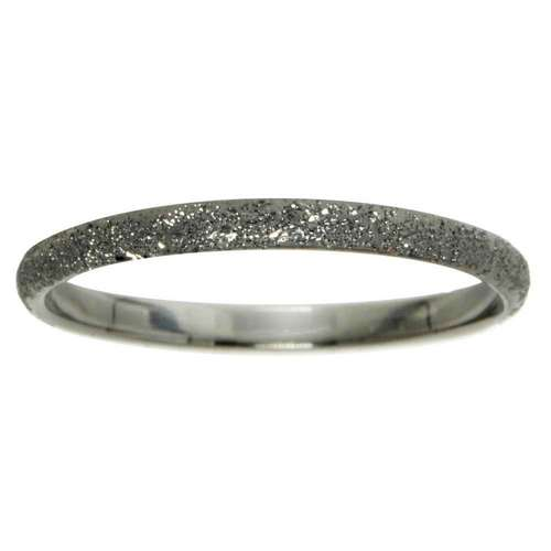 Fingerring Silber 925 Diamanten Staub Schwarze Ruthenium Beschichtung
