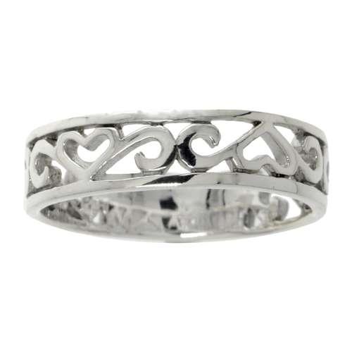 Fingerring Silber 925 Herz Liebe Tribal_Zeichnung Tribal_Muster Love Liebe