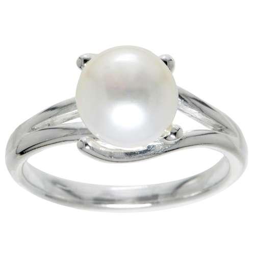 Bague de doigt Argent 925 Perles d´eau douce
