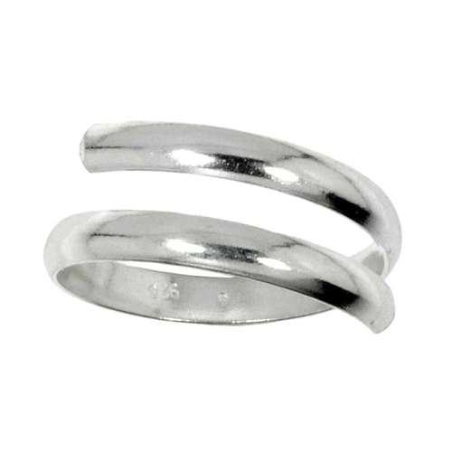Kinder Ring Silber 925 Spirale