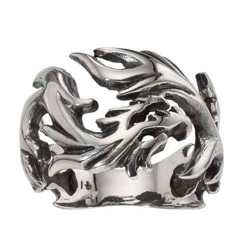 Fingerring Silber 925 Drache