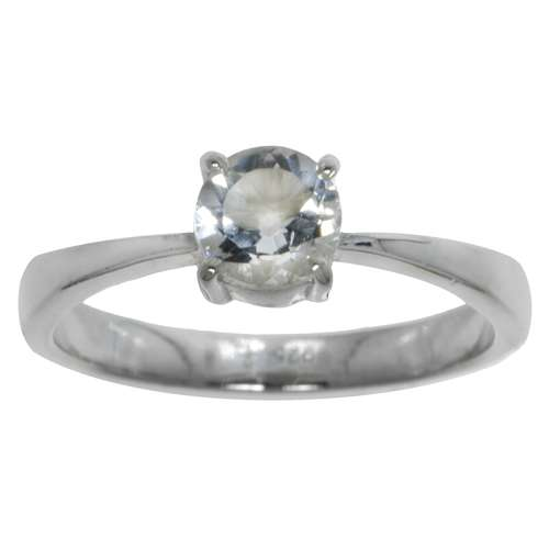 Anillo Plata 925 Cristal de roca