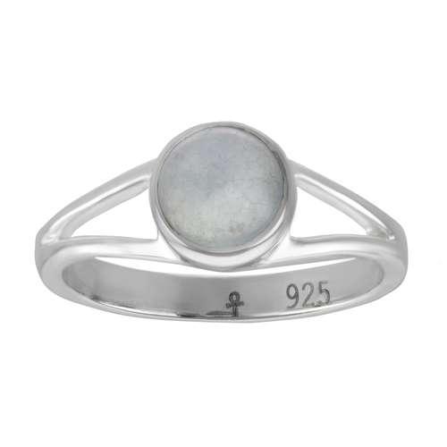 Fingerring Silber 925 Blauer Quarz