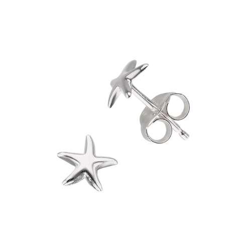 Kinder Ohrringe Silber 925 Stern