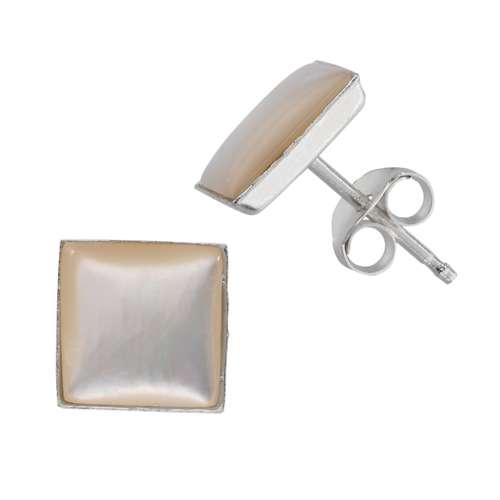 Ohrstecker Silber 925 Muschel