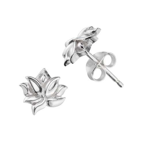 Ohrstecker Silber 925 Blume
