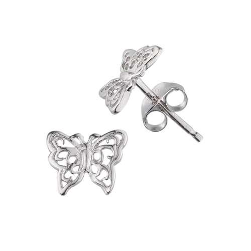 Ohrstecker Silber 925 Schmetterling Sommervogel