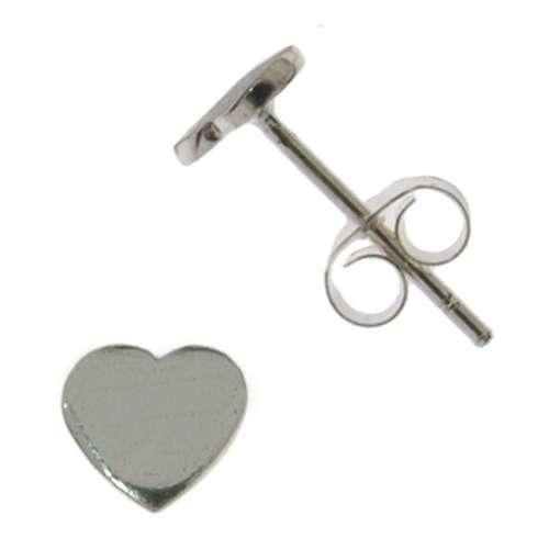 Ohrstecker Silber 925 Herz Liebe