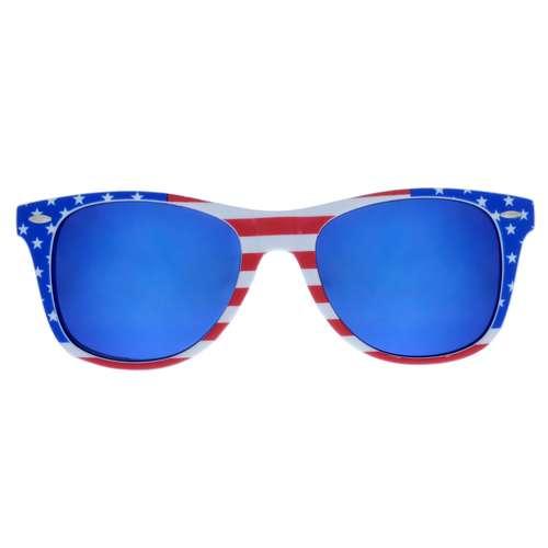 Sonnenbrille Acrylglas Stern Streifen Rillen Linien
