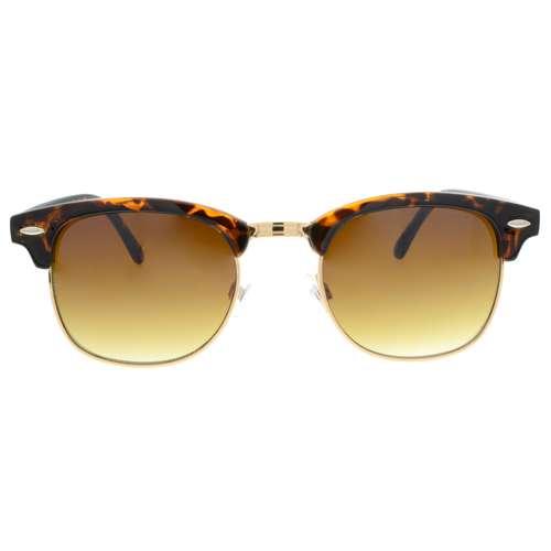 Sonnenbrille Acrylglas Metall PVD Beschichtung (goldfarbig) Polycarbonat Tierfell Tiermuster Fellmuster
