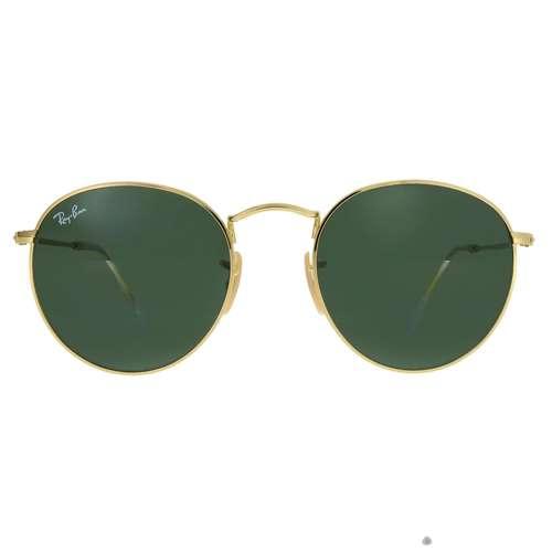 RAY BAN Sonnenbrille Metall Acrylglas Gold-Beschichtung (vergoldet)
