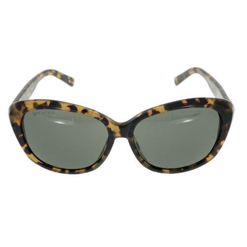 LANCASTER Sonnenbrille Kunststoff Nylon Tierfell Tiermuster Fellmuster