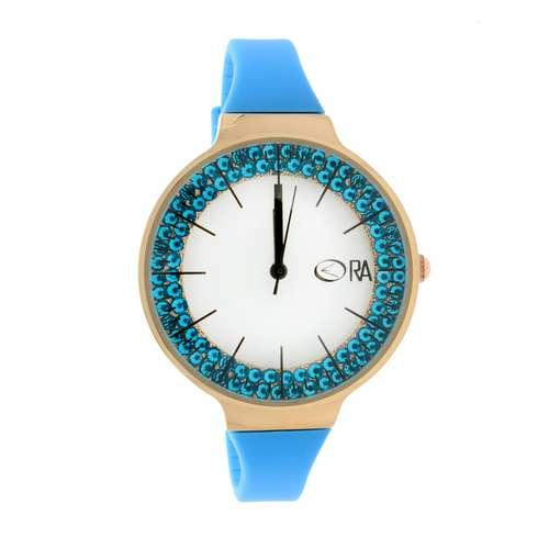 EraOra Uhr Edelstahl Mineralglas Kristall Kunststoff