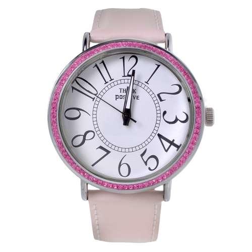 EraOra Reloj Acero fino Cristal mineral Cristal Cuero