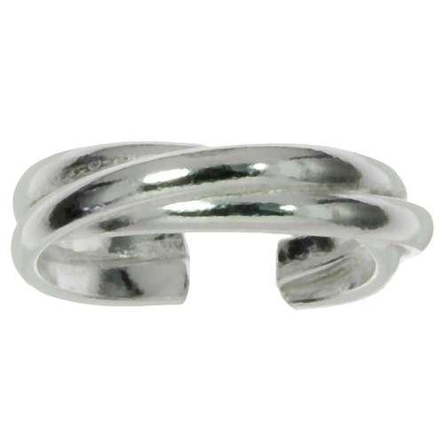 Zehenring Silber 925 Ewig Schlaufe Endlos