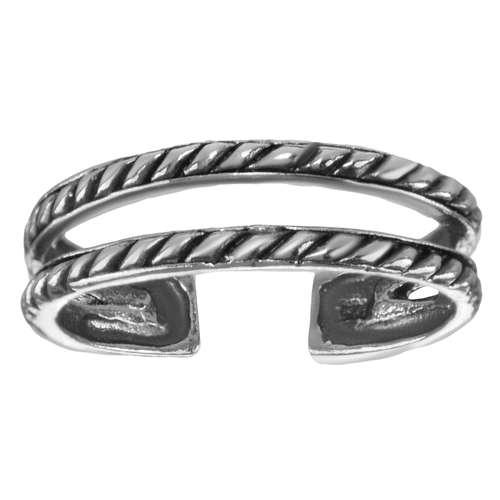 Zehenring Silber 925 Spirale
