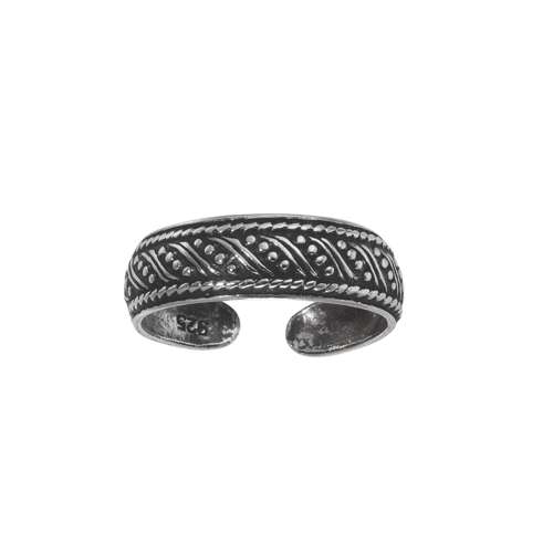 Fingerring Silber 925 Tribal_Zeichnung Tribal_Muster