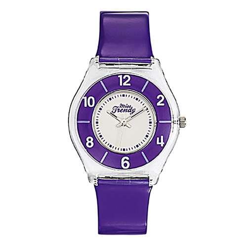 MISS TRENDY Uhr Kunststoff