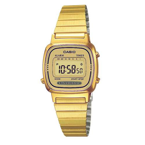 CASIO Digitaluhr Resin Edelstahl