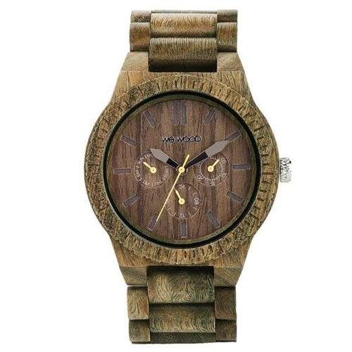 WEWOOD Uhr Holz Edelstahl Mineralglas