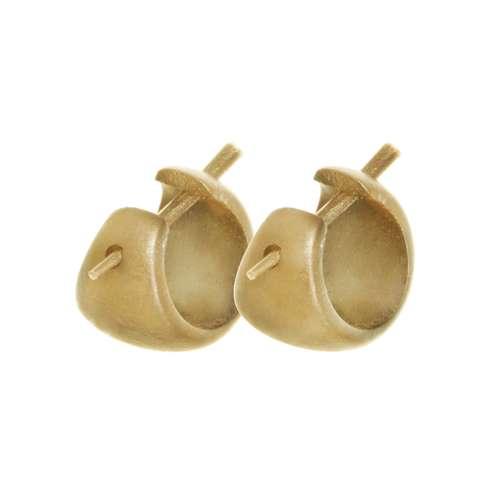 Ohrringe Holz