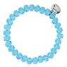 Bracelet Cristal Howlite Acier inoxydable